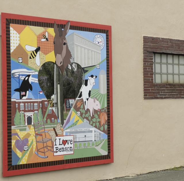 Benton Card Company Mural
