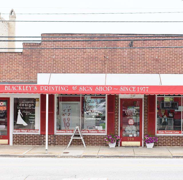 Blackley's Printing Exterior