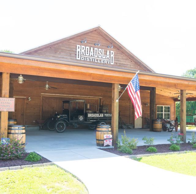 Broadslab Distillery Tasting Room