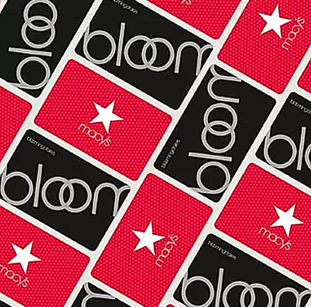 Macy's/Bloomingdale's Gift Card 2020 promo
