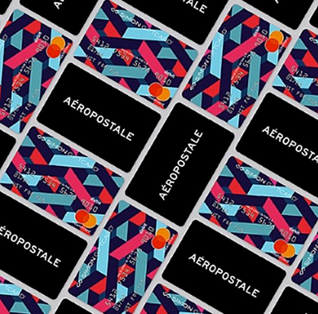 Aeropostale/Master Card 2020