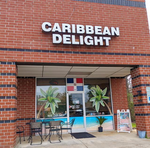 Caribbean Delight outside