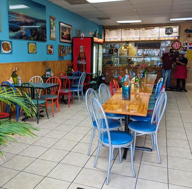 Caribbean Delight interior