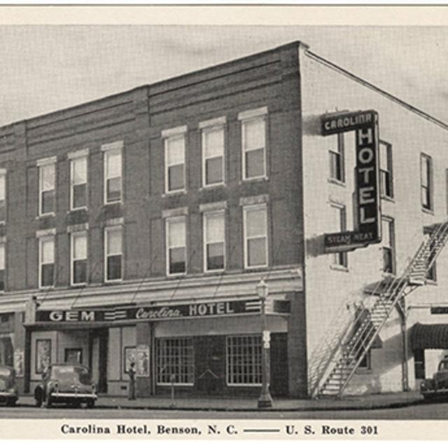 Historic Postcard of Benson NC