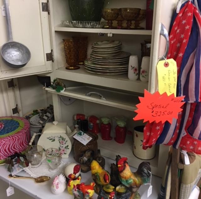 Cleo's Closet Hoosier Cabinet