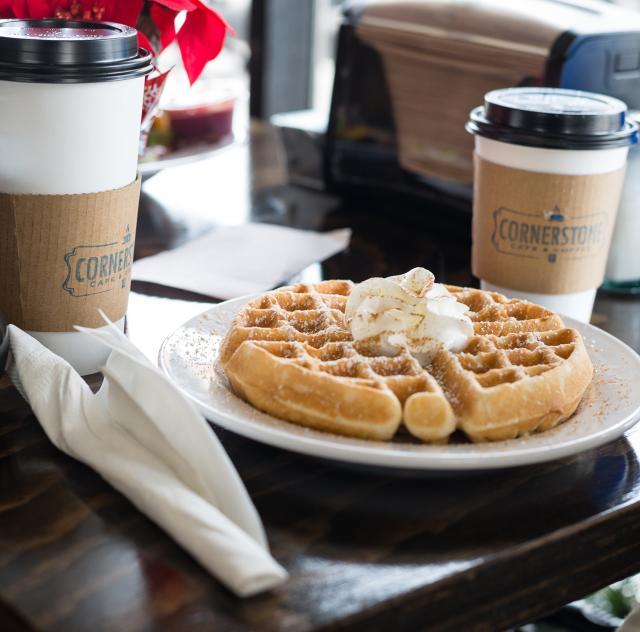 Cornerstone waffle and coffee 2000x1500 72dpi