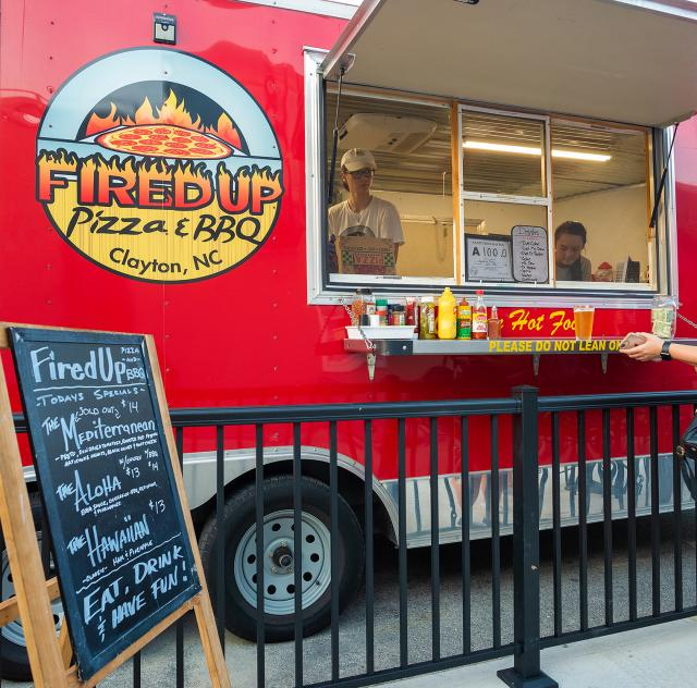 Fired Up Clayton food truck