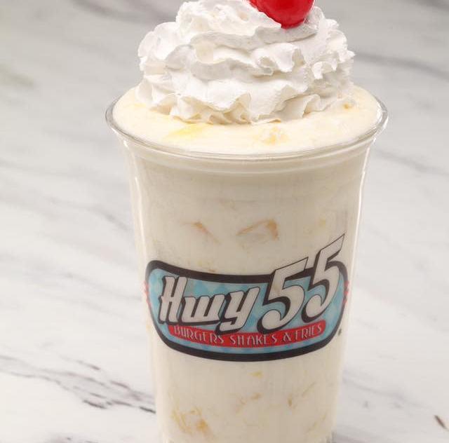 Hwy 55 milk shake