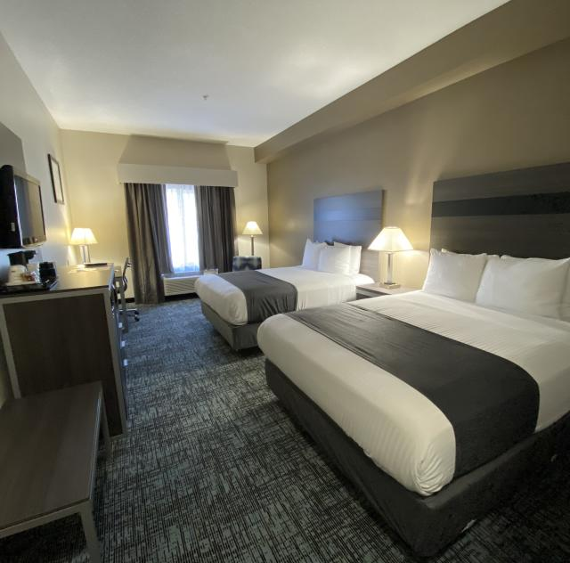 Best Western 2 Queen Bed Room