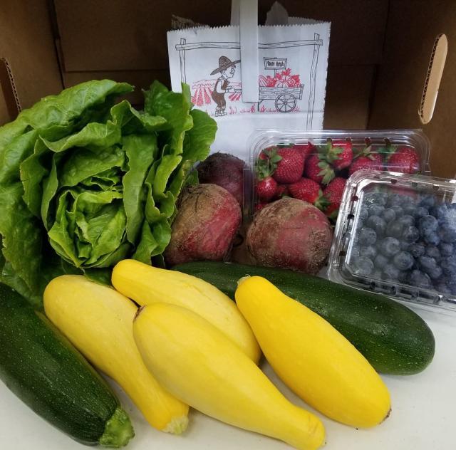 J & L Produce veggies