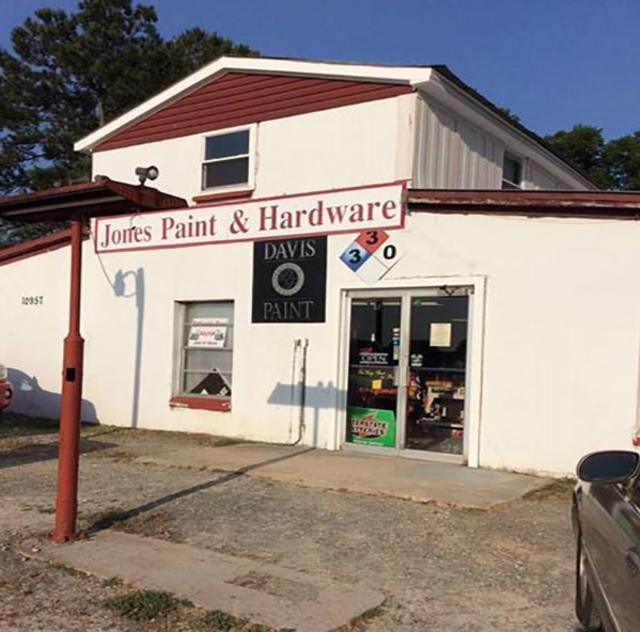 Jones Farm Supply exterior
