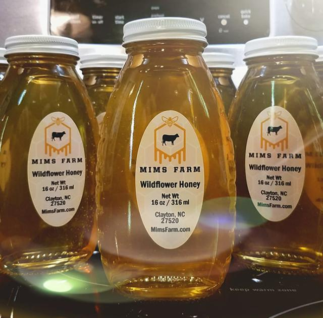Mim's Farm honey