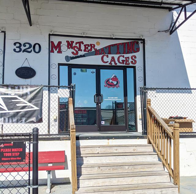 Monster Indoor Batting Cages exterior