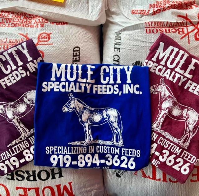 Mule city shirt