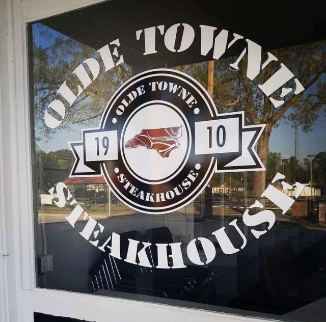 Olde Towne Steakhouse Sign