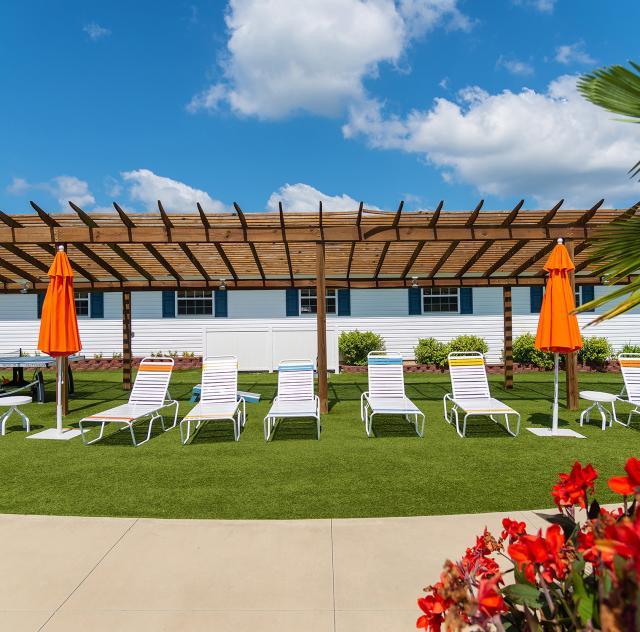 Raleigh Oaks pool chairs