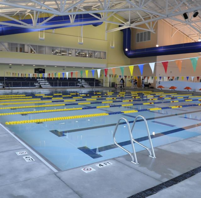 Indoor Pool at the Smithfield Recreation and Aquatic Center