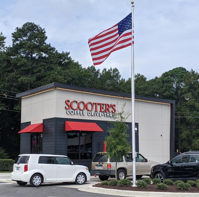 Scooter's Coffee Front