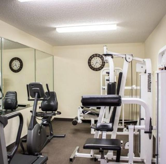 Sleep Inn Garner Fitness Room