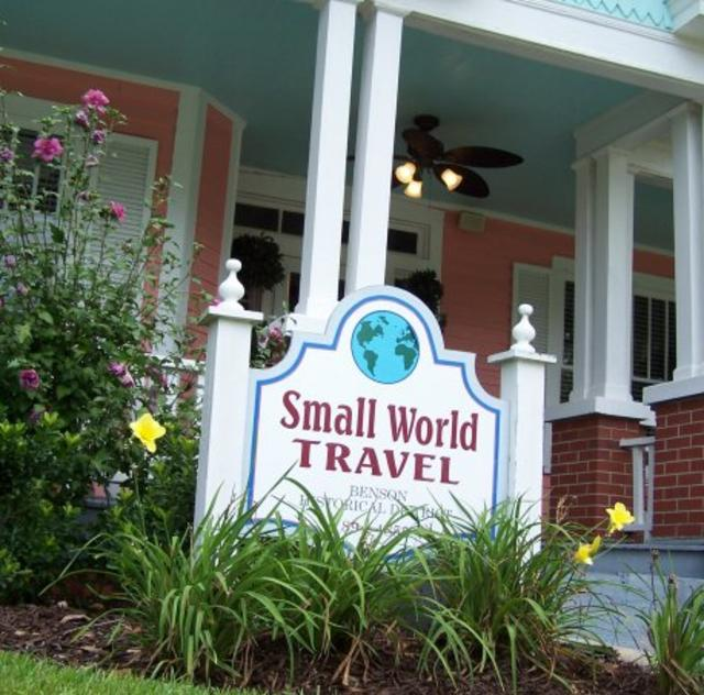 Small World Travel & Tours Exterior
