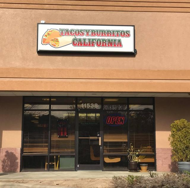 Tacos y Burritos California Exterior