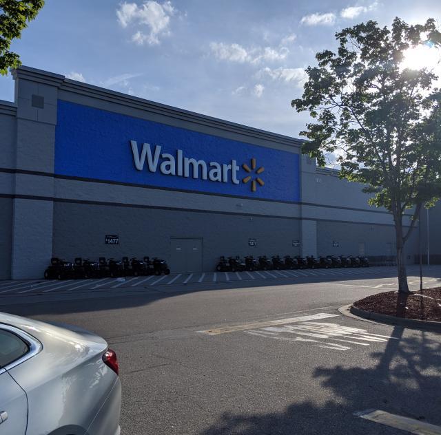 Walmart Clayton Exterior