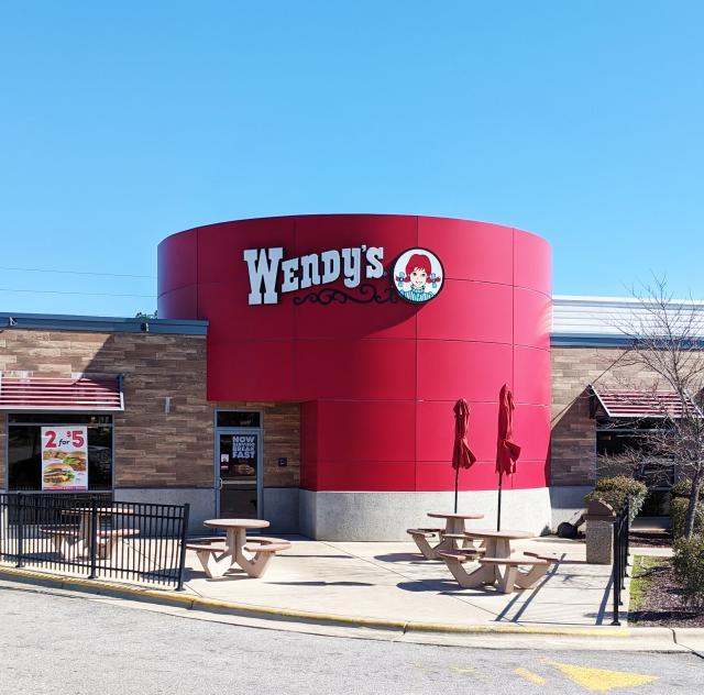 Wendy's Clayton Exterior