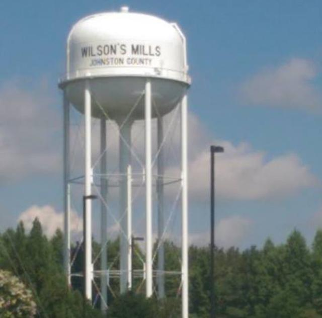 Wilson's Mills Water Tower