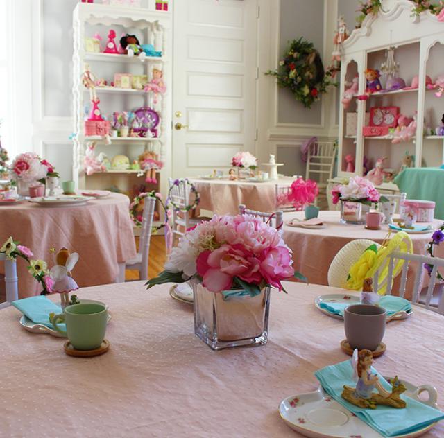 Yellow House tea room