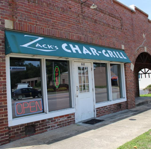 Zack's Char-Grill Exterior