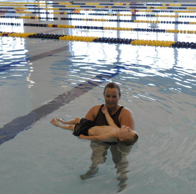 Swim Lessons at the Indoor Pool at the Smithfield Recreation and Aquatic Center