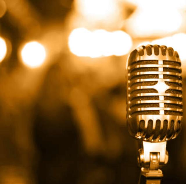 Microphone at The Comedy Zone