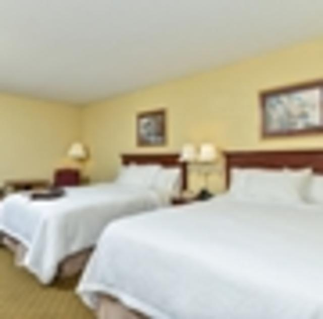 Hampton Inn Garner Double Room