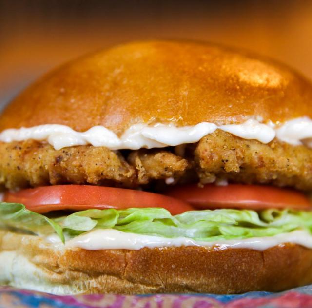 Hardee's chicken sandwich