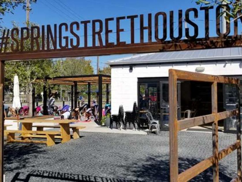 Spring Street Beer and Wine Garden