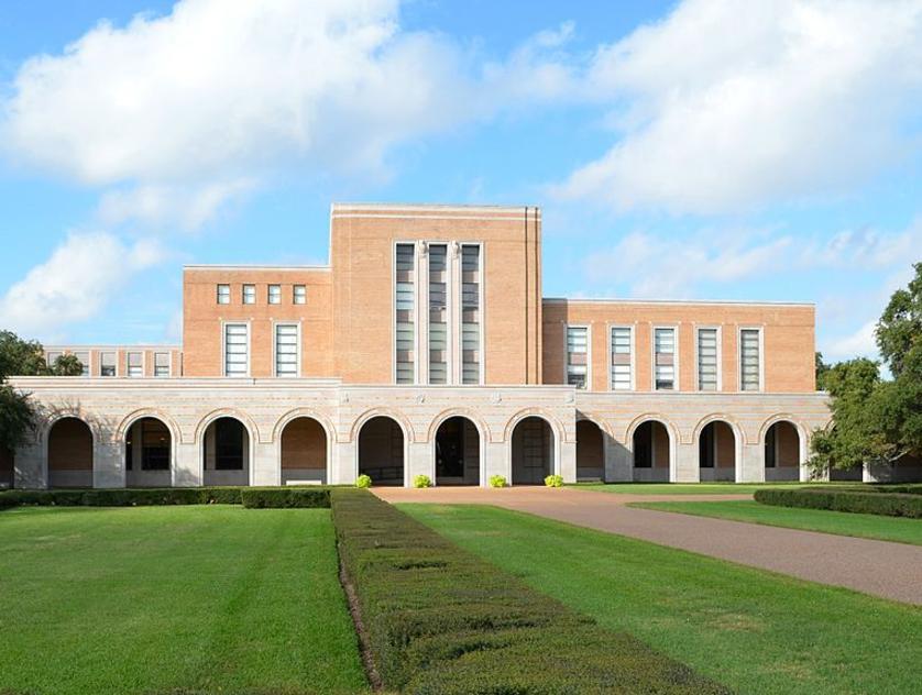 The Fondren Library at Rice University
