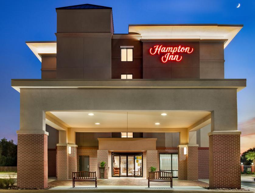 Hampton Inn Front