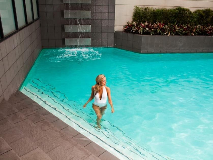 pool at derek