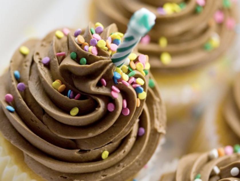 Ooh La La Birthday Cupcakes