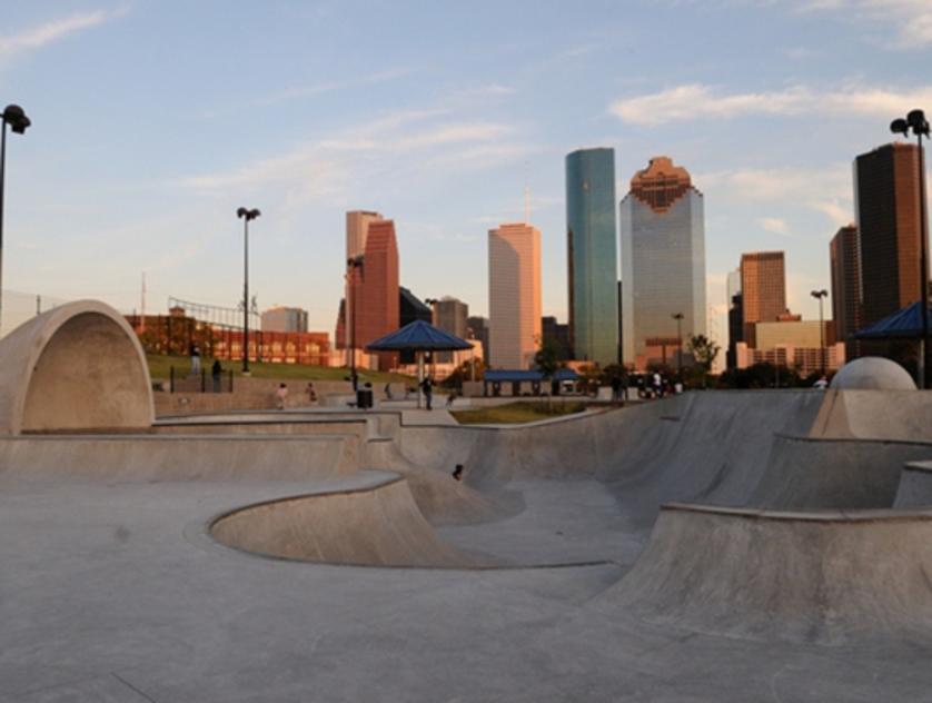 Lee and Joe Jamail Skatepark