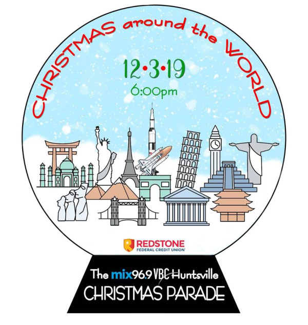 Graphic for Christmas Parade 2019