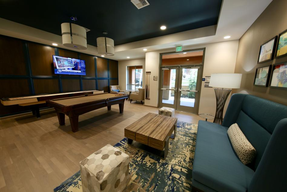 Homewood Suites game room