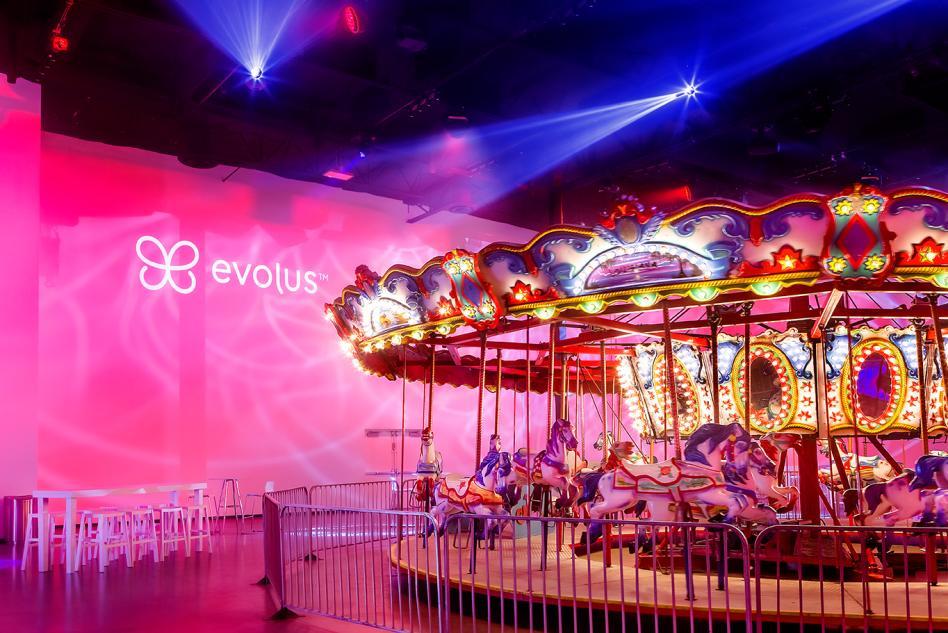AV IRVINE Corporate Events with Carousel