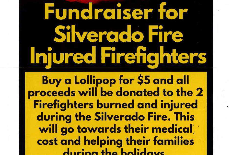 Fundraiser for Firemen