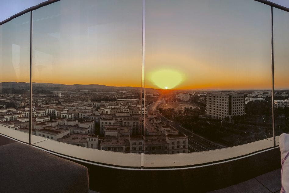 HH Rooftop Sunset View