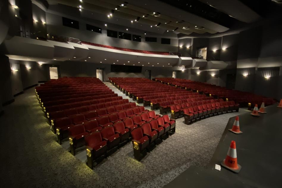 Irvine Barclay Theatre Seats