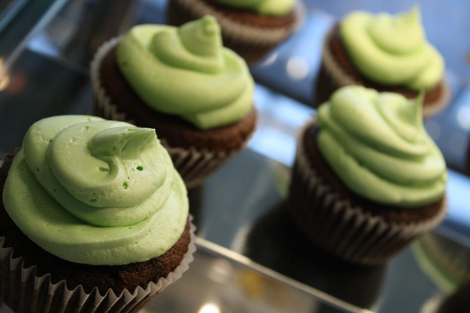 Guinness Cupcake with Baileys Irish Creme Frosting