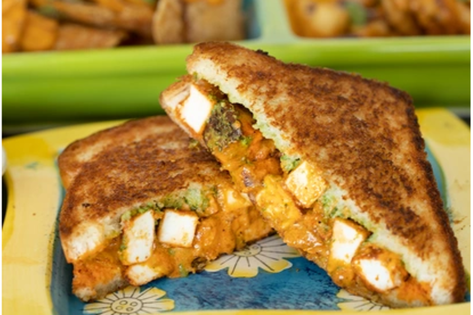 Maast Indian grilled cheese