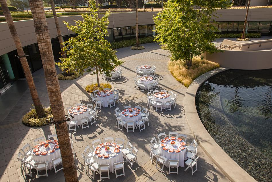 Events with Water Feature