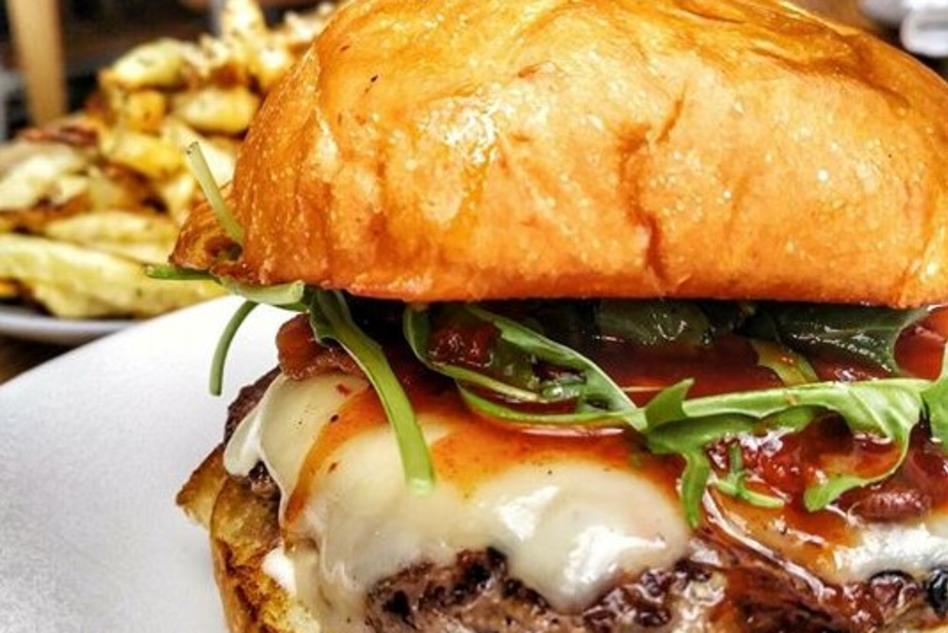 the CUT Handcrafted Burgers